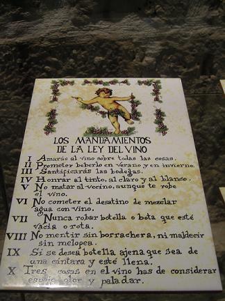 LA LEY DEL VINO