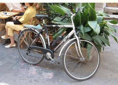vino con bici